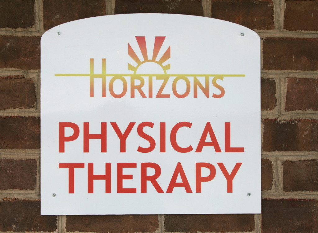 Horizons Physical Therapy sign
